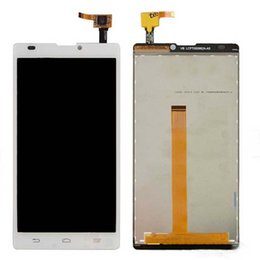 Wholesale Blade Lcd - Wholesale-top quality LCD Display Touch Screen Digitizer assembly replacement For ZTE blade L2 white