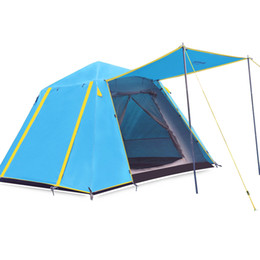 Wholesale Inflatable Field - Wholesale- Free ship beach tourist large camping Awning tent for outdoor recreation fishing marquee tents gazebo inflatable bubble EA14