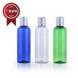 Wholesale hot stamp foil - free shipping Capacity 100ml 30pcs lot Rounded shoulders foil ages covered bottle, lotion shower gel,plastic bottle