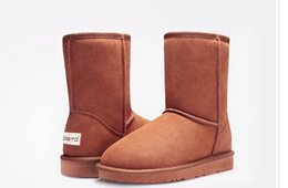 Wholesale Tall Heel Boots For Women - Wholesale ! NEW #5*15 #5*25 #5*54 #5*03 #1*73 Australia classic tall waterproof cowhide genuine leather snow boots warm shoes for women