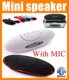 Wholesale Mini Wireless Rechargeable Speaker - Best Rugby Football Design Style mini portable bluetooth speaker super bass wireless Speaker Heavy Bass loud rechargeable speaker box MIS032
