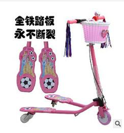 Wholesale Cheap Wheel Scooters - Wholesale-Factory direct cheap wholesale swing car, children's scooters, three scooters, baby sports scooter free shipping