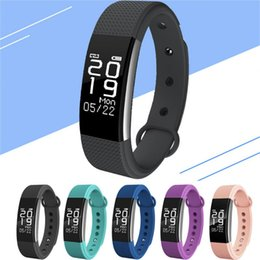 2019 recordatorio de pulsera F1 Smartband Smart Wristbands Pulsera de banda deportiva fitness tracker Llamadas Recordatorio Heart Rate Monitor IP67 Waterproof DHL free OTH586 recordatorio de pulsera baratos