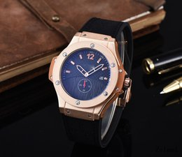 Wholesale Fully Dress - Hot Top Luxury Business Simple Casual Men's Two needle and half Belt Selling Fully Automatic New Fashion Ultrathin Movement Watches