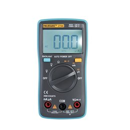 Wholesale Lcd Auto Range Multimeter - ZT-98 portable auto range digital multimeter hand held tester with large and easy reading LCD display and backlight