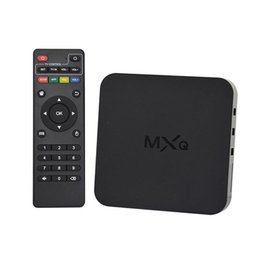 2017 8gb wifi Hot Sale MXQ Quad Core Android TV Box Récepteurs Satellite Tuner TV 1080P HDMI WiFi 8GB 4k 8gb wifi autorisation