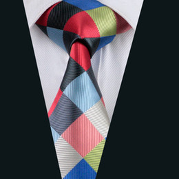 Wholesale Cheap Plaid Ties - Free Shipping Cheap Men Ties Stripes Neck Ties Silk High Quality Classic Length Single Tie Bronze Fashion Neckties For Men D-1064