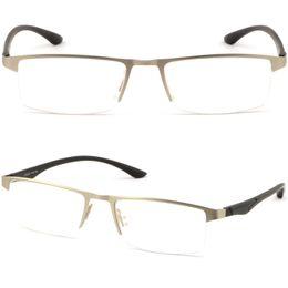 Half Rimless Light Uomo Donna Titanium Frame RX Prescription Glasses Photochromic supplier rimless prescription glasses da occhiali senza prescrizione fornitori