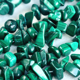"""Wholesale Stone Bead Chips Bracelets - Discount Wholesale Natural Genuine Green Malachite Nugget Chip Loose Beads Free Form 3x8mm Fit Jewelry Necklace Bracelets 34"""" 03821"""