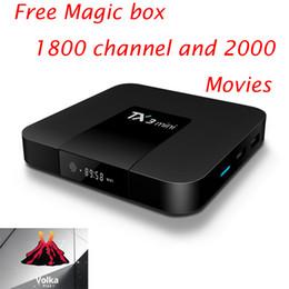 2019 мини-миль на галлон Бесплатный волк PRO арабский IPTV magic box 1800 каналов 2000 фильмов Neo pro MAG250 VLC M3U Smart TV Enigma2 box MXQPRO