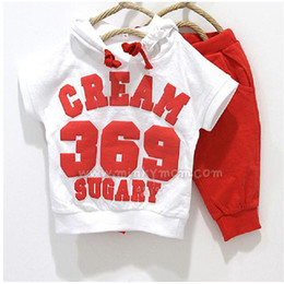 Wholesale Thin Baby Jacket - Digital 369 Baby Boys Clothes Sets 2-4years Multi-Colors Children's Tracksuits Cheapest Thin Summer Suits Fashion Kids Clothes