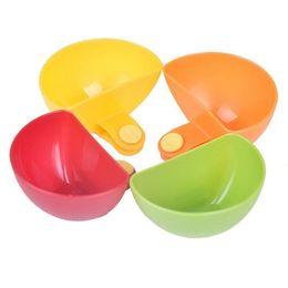Wholesale Plastic Dip Tools - 1pcs Dip Clips Kitchen Bowl kit Tool Small Dishes Spice Clip For Tomato Sauce Salt Vinegar Sugar Flavor Spices TT69