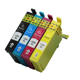 Wholesale Epson T1283 - free shipping 4 PCS T1281 T1282 T1283 T1284 compatible Ink inkjet cartridge for epsonStylus SX130 SX230 SX235W SX420W printer