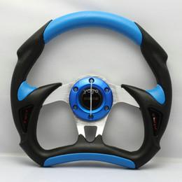 Wholesale Momo Pvc - MOMO Steering Wheel PU PVC Racing Car Steering