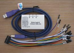 Wholesale Benchtop Tools - USB Logic Analyzer 100M max sample rate,16Channels,10B samples, MCU,ARM,FPGA debug tool