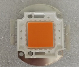 Wholesale Grow Light 24v - 10W   20W   30W   50W  100W 380-840nm Full Spectrum LED Grow Chip Module Light Free HK Post Shipping