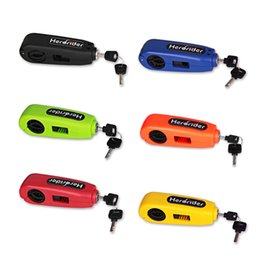Wholesale Grips Scooters - Universal Motorcycle Lock Motorbike Scooter Handlebar Safety Lock Brake Throttle Grip anti theft Protection Security Lock