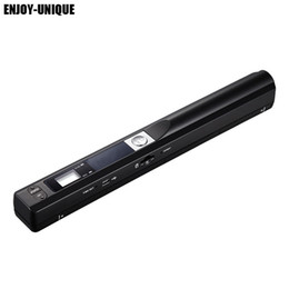 Wholesale handheld portable document scanner - Wholesale- high speed 900DPI JPG and PDF formate A4 Size Document mini handheld Portable scanner pen