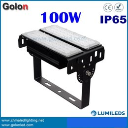 Wholesale Metal Floods - LED flood light 100W LED tunnel lighting for projector lighting 100-277V IP65 waterproof 400w metal halide led replacement lamp