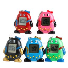 Wholesale Pet Penguin - Funny Vintage Virtual Pet Cyber Toy Pets In One Toys Tamagochi Penguins Toy Gift New Retro Game Toys Tamagotchi Digital Pet Game