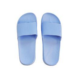 Flip flops in plastica online-Coppie Scarpe da casa per uomoCapelli da bagno per donna, fondo vasca, infradito, impermeabile antiscivolo in plastica ad asciugatura rapida