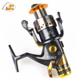 Wholesale Superior Carp Reel - SUPERIOR METAL SPINNING FISHING REEL 9+1BB Front and geer 10bb powerful Carp reel bait casting reel fly fishing reel