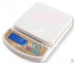 Wholesale Digital Postal Shipping Scales - free shipping 10Kg X 1g Digital Postal Kitchen Weighing Scale