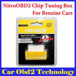 2019 software chave de carro 2016 Venda Quente NitroOBD2 Benzina Car Chip Tuning Box Plug and Drive caixa de Chip Tuning OBD2 Mais Poder / Mais Torque Frete grátis