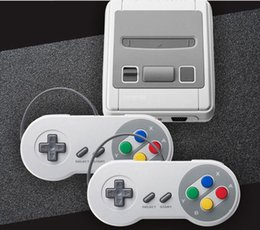 Snes usb online-Consola de juegos portátil HDMI Súper mini clásico SFC TV Consola de juegos Sistema de entretenimiento 621 Juegos clásicos para la consola Mini NES SNES DHL