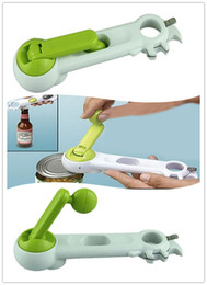 Wholesale Popular Kitchens - Popular Multi-Function Bottle+Can+Jar Opener 6 in 1 Kitchen Tool cooking tools Beer Wine Soda Tab