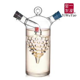 2019 alimentos essenciais Cozinha fornece óleo e vinagre garrafa oiler molho de soja e vinagre galheteiro frasco de vidro tempero garrafa (fh-921p)