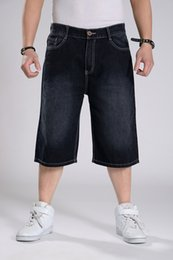 Wholesale Men S Jeans Bermuda - Wholesale-2015 Moletom Skinny Masculina Hilip Hip Hop men's clothing summer skateboard casual pants shorts capris trousers bermuda jeans