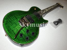 Wholesale Dragon Electric Guitars - Wholesale Free Shipping 2015 NEW Custom Shop Electric Guitar Green Dragon Fingerboard For Sales