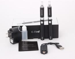 Wholesale Double Mt3 Kits - Evod MT3 Electronic Cigarette Starter Kit 650mah 900mah 1100mah Colors EVOD BCC MT3 Double Gift Packing Ecigarette