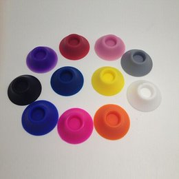 Wholesale Ego Pen Caps - Silicone suckers rubber caps pen holder stand for battery ego kits e cigs silicone suckers ego base holder ego display stands 56102