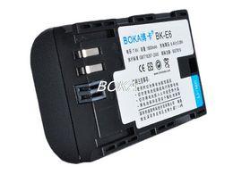 Wholesale Eos 5d Mark Digital Camera - BOKA LP-E6 LPE6 7.4V 1600mAh digital battery Camera For Canon EOS 5D Mark II III 6D 7D 60D 60Da 70D 5D2 5D3
