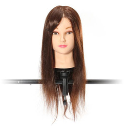 Wholesale Hair Mannequins Wholesale - Fashion Hot Adjustable Hairdressing Stands Clamp Salon Styling Tools Hair Model Mannequin Holder Wig Training Head Mold Tripod