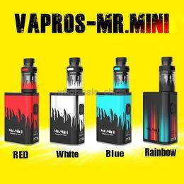 Wholesale Mr Mini - Newest Vision Vapros Mr Mini Mod Kit 15W Tiny E Cigarette Kits Fashion Portable E Cigs VS Ibox Mini Vape Mods Kit