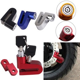 Wholesale Motorcycle Brake Discs Rotors - Top Sell Alloy Motorcycle Cycling Bicycle Security Rotor Disc Brake Wheel Safe Lock Brake Wheel Safe Lock Free Shipping LB