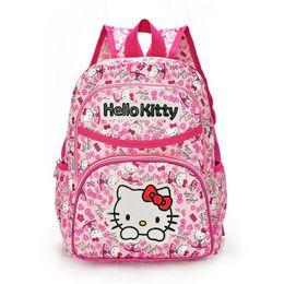 Wholesale Character Kitty - Hello Kitty Girl 'S School Bag Child Backpack Bags School Backpacks Schoolbag Bags Lovely Children Backpack