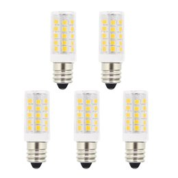 Wholesale E12 5w - 5W T3 E12 Candelabra Base LED Bulbs,40 Watt Incandescent Bulb Replacement,120 Volts 400Lm Natural Daylight White 6000K LED Light bulbs For U