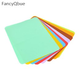 Wholesale Meal Pad - Wholesale- New Modern Pvc Multicolor Rectangle Geometry Place Meal Mats & Pads Table Kitchen