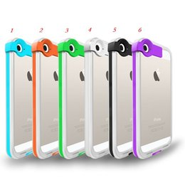 Wholesale Apple Usb Flash - Lighting Flash LED Light Up Cell Phone Case With USB Cable for iPhone 4 4s 5 5s 6 6plus