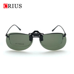 Wholesale Mirrored Clip Sunglasses - Wholesale- new Explosion-proof glasses clip sunglasses sunglasses mirror for men and women High quality export to Europe OEM