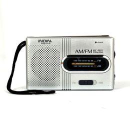 Wholesale speaker dc - Universal BC-R21 Mini Portable AM FM Telescopic Antenna Radio DC 3V World Receiver Speaker Free Shipping