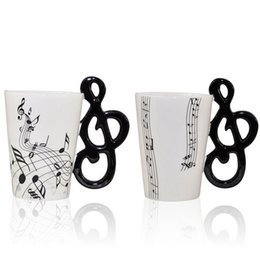 Wholesale Music Cup - Free Shipping High Quality 60pcs lot 2015 new Music Cup Ceramic Cup with Gift box