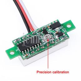 "Wholesale Small Voltage Meter - Wholesale-0.28"" Red Led DC 0~100V Digital Voltmeter Mini Voltage Meter Ultra-small Volt Meter for Car Motorcycle etc"