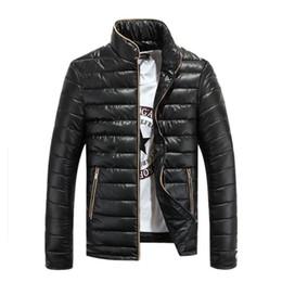 Wholesale Male Outdoor Jacket - New Winter Men Jacket Outdoor Stand Collar Men's OverCoat Male Fashion Warm Wea Slim Fit Windbreaker Mens Outerwear Parkas