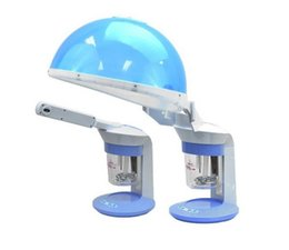 Wholesale Facial Tables - Pro Personal table top Hair and facial steamer HOT mist output Ozone Facial steamer with Aromatherapy