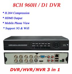 Wholesale D1 H 264 8ch - Wholesale HOT Selling & High Quality H.264 960H D1 8CH DVR with Cloud Technolog Support 3G,WIFI,surveillance dvr